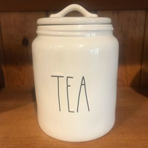 Rae Dunn by Magenta Tea Canister perfectly new